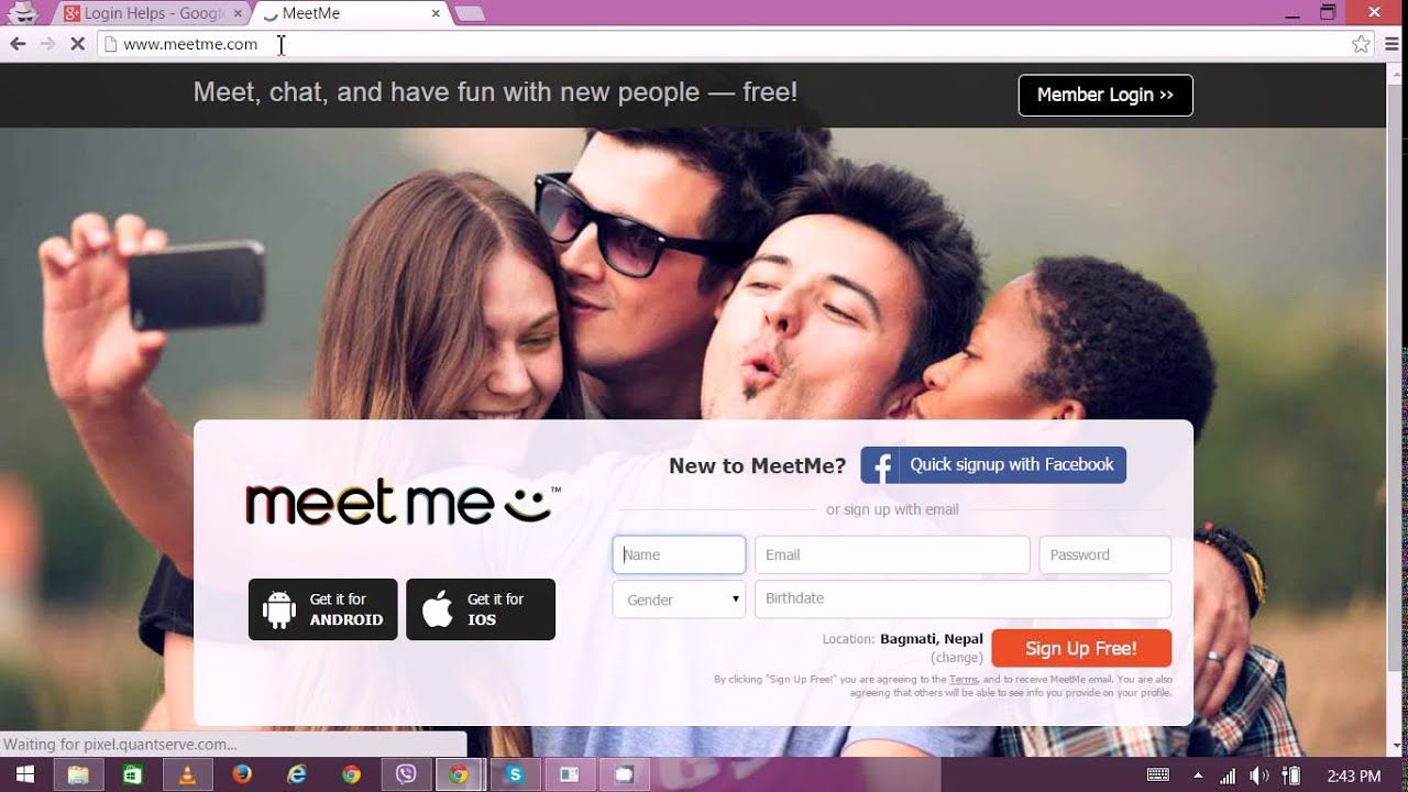 Meetme com mobile login