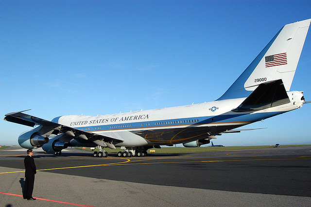 Air force one tail number