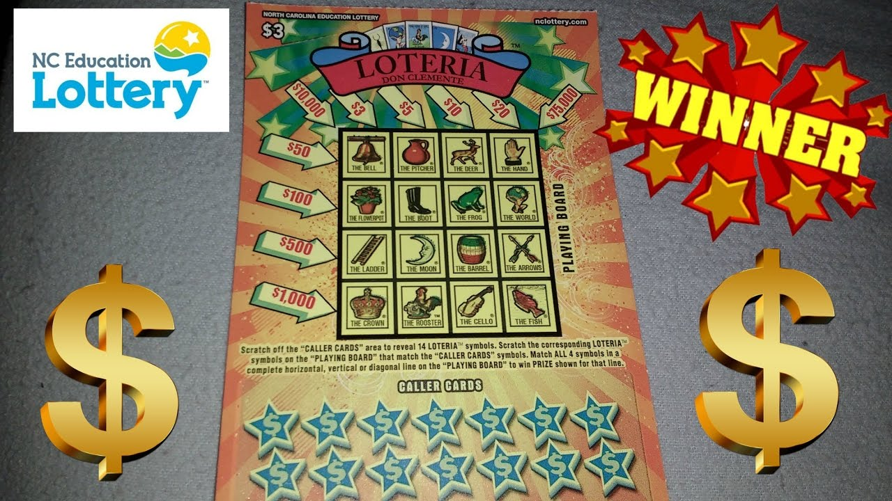Nc education lottery scratch offs