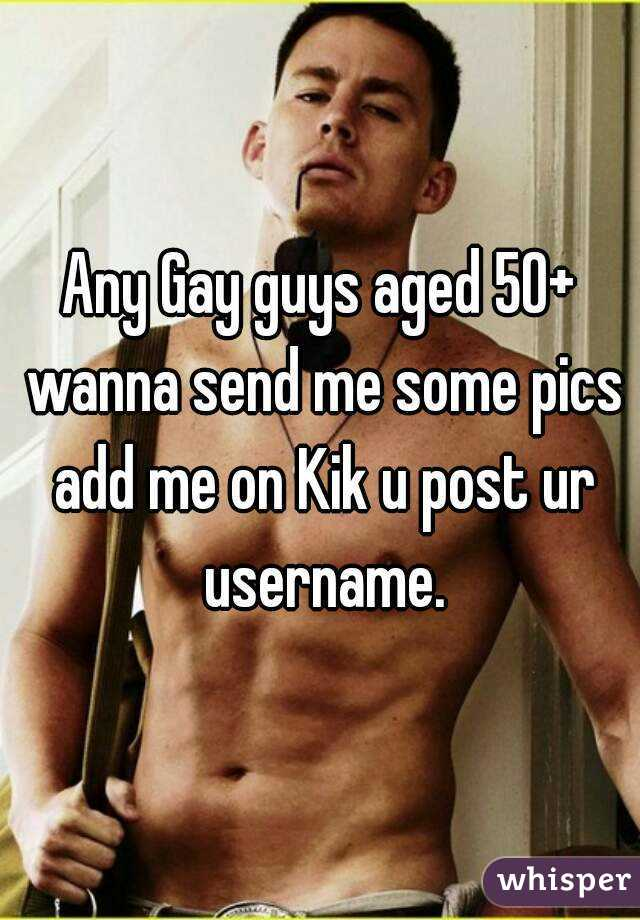 Gay kik usernames