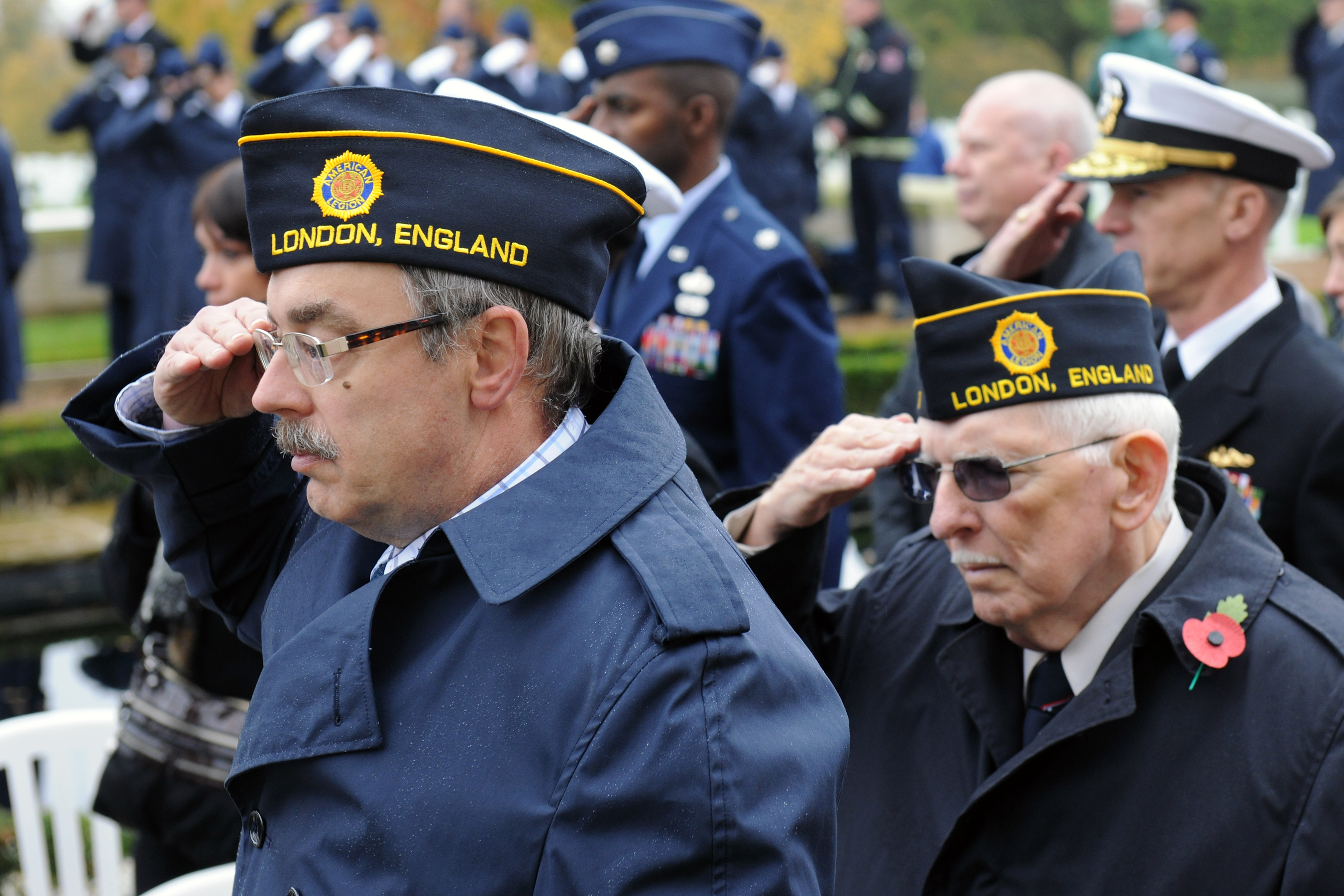 Do you salute during taps
