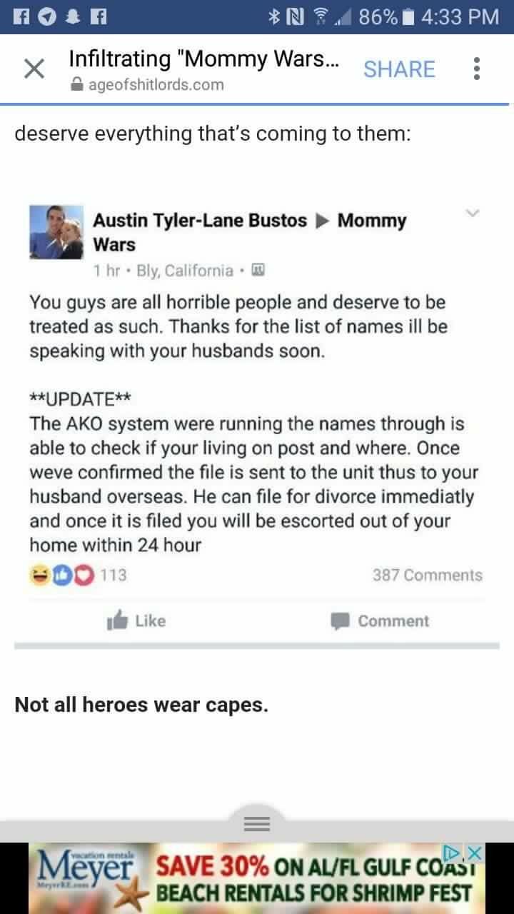 Cheating on spouse in military