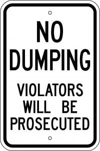 What does dumping mean