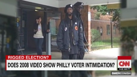 Black panther voter intimidation 2012