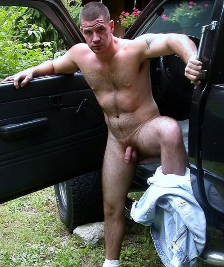 Nude male truck drivers