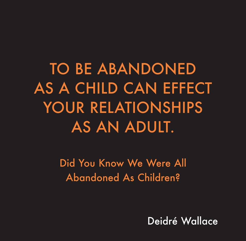 Childhood abandonment issues in adults