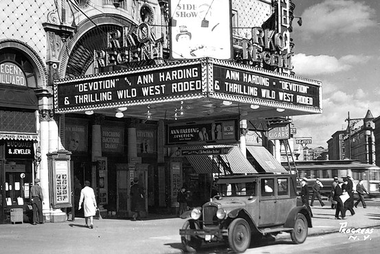Oldest movie theater in america