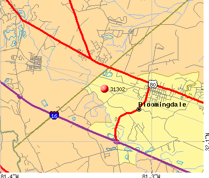 Bloomingdale ga zip code