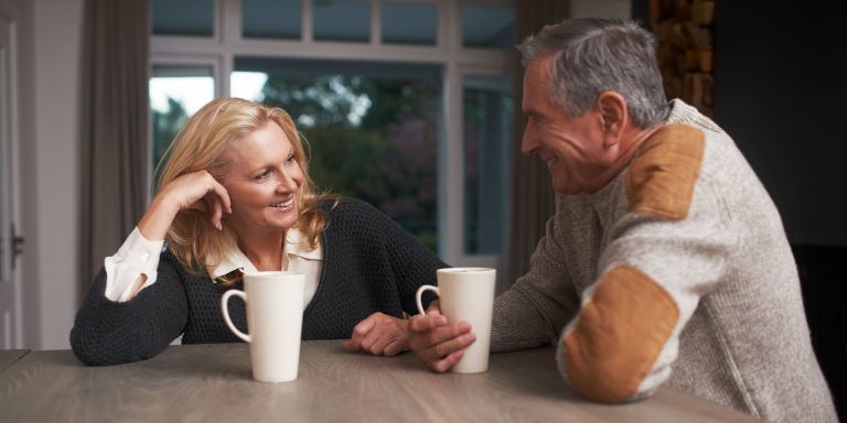 How to tell if a widower is interested in you