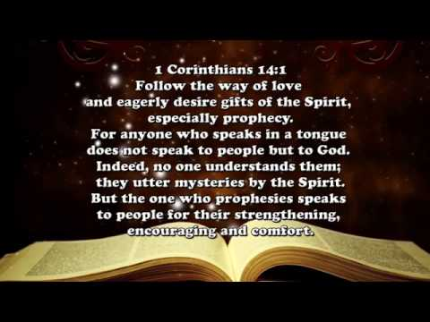 Scripture on speaking in tongues