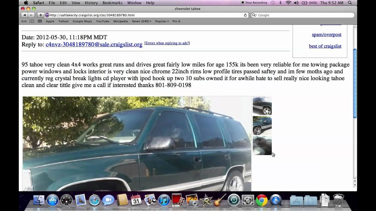 Craigslist utah salt lake