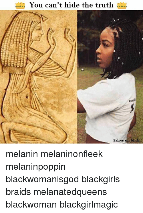 The truth about melanin
