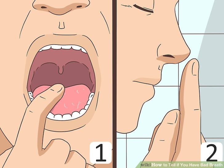 How to tell how your breath smells