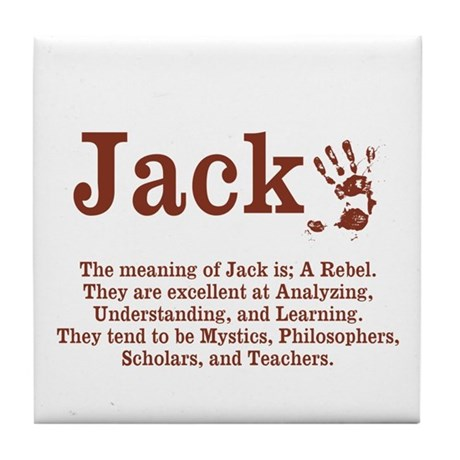 Meaning of name jack