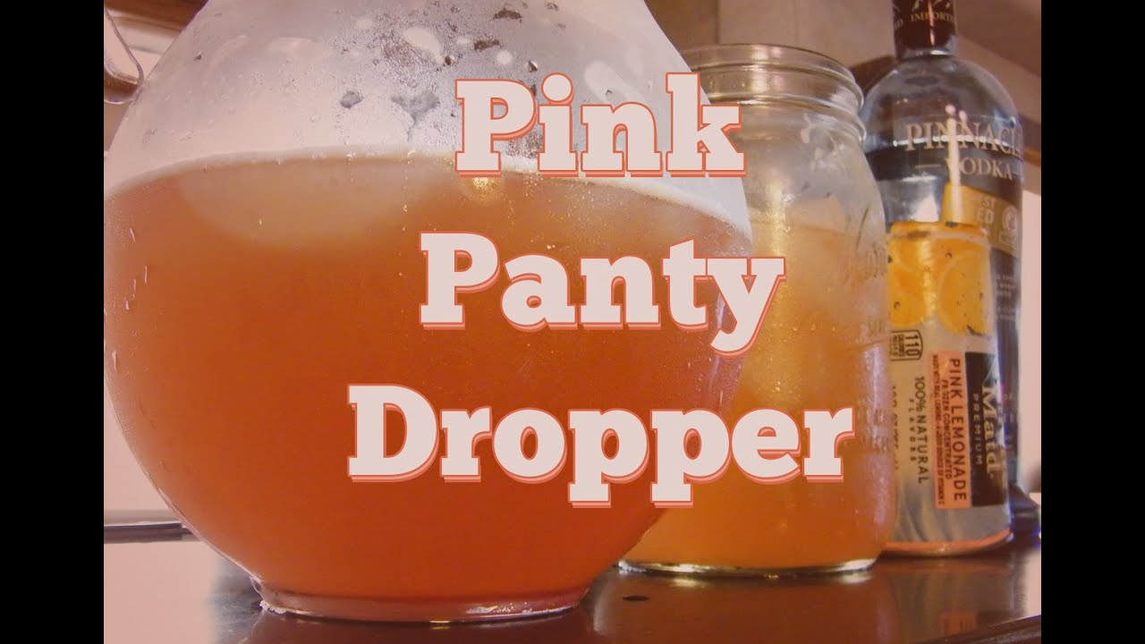 How to make panty droppers