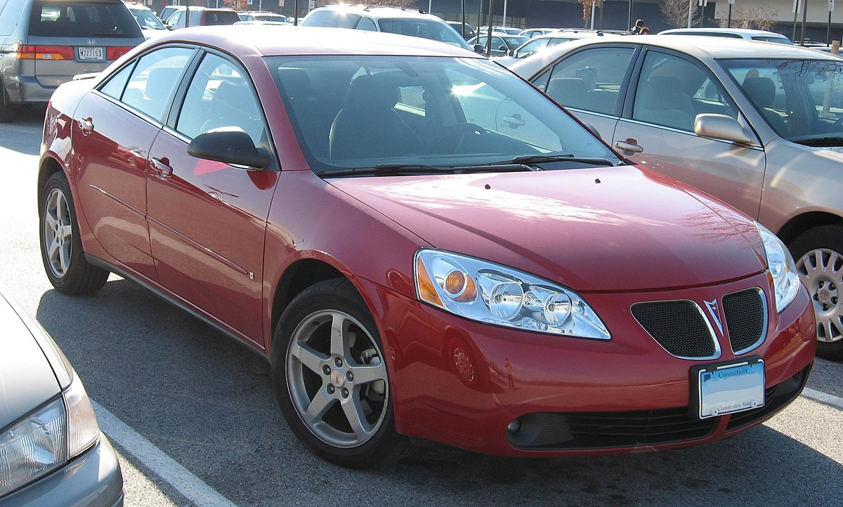 2008 pontiac g6 issues