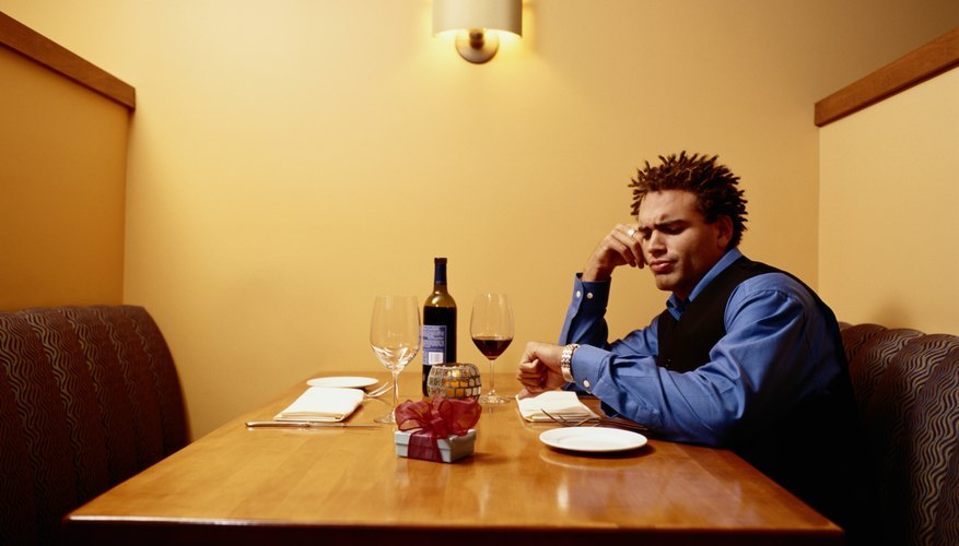 Stood up on a date