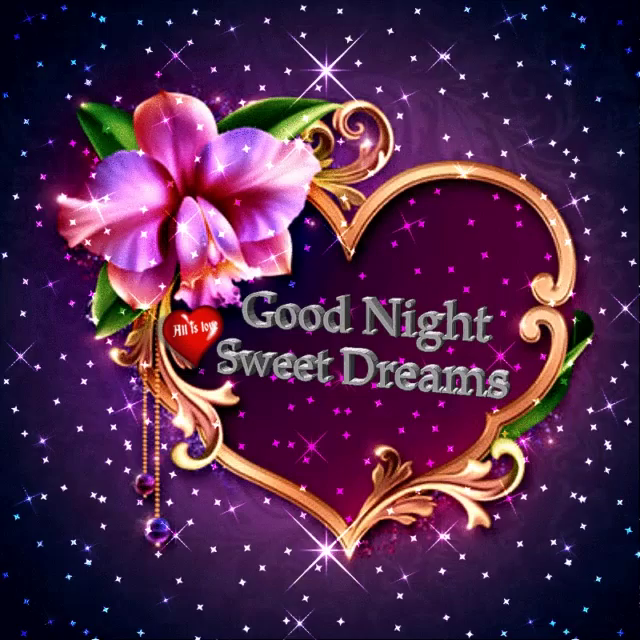 Good night and sweet dreams images