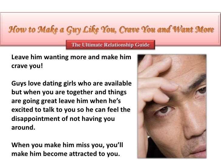 How to make a man come fast