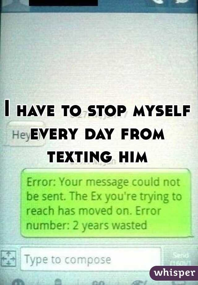Texting everyday just friends