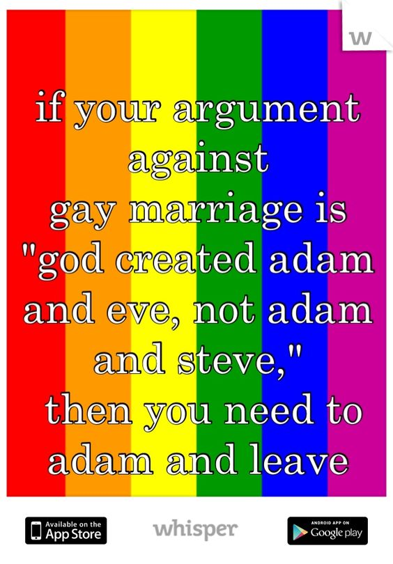 Arguments against lgbt rights