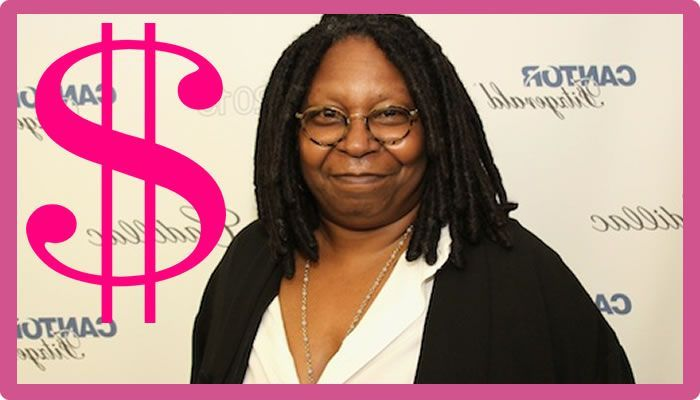 How much is whoopi goldberg worth