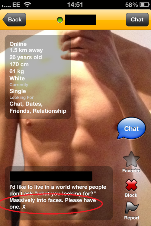 Grindr for straight people