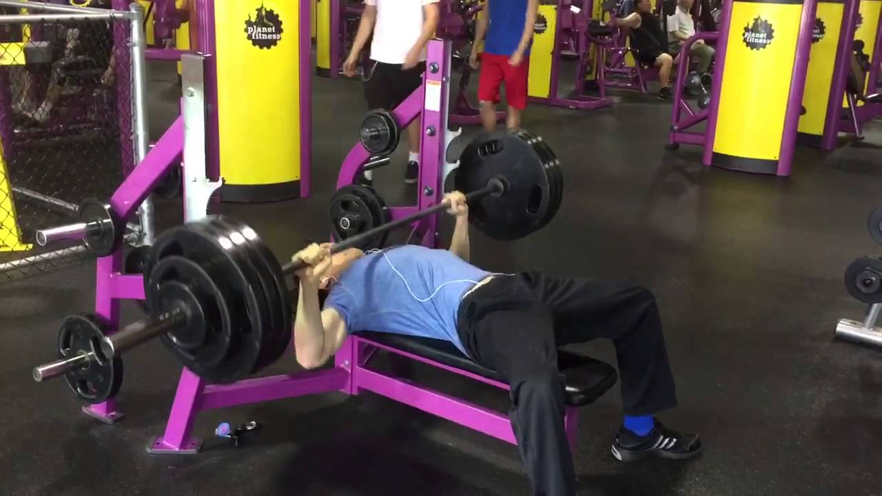 Planet fitness bar weight