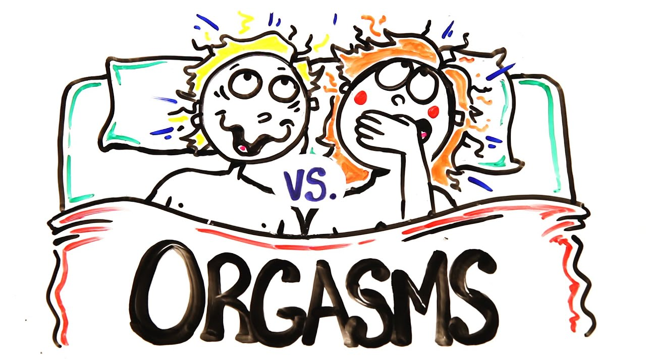 Difference between cumming and orgasm.