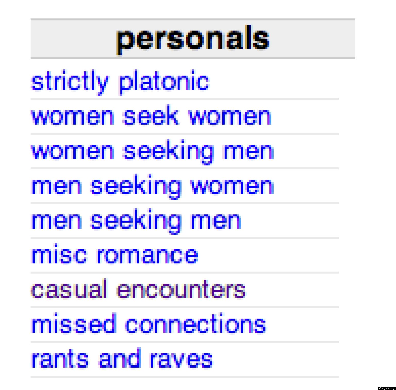Craigslist south shore personals