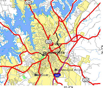 Americus Ga Zip Code Map.Gainesville Ga Area Code