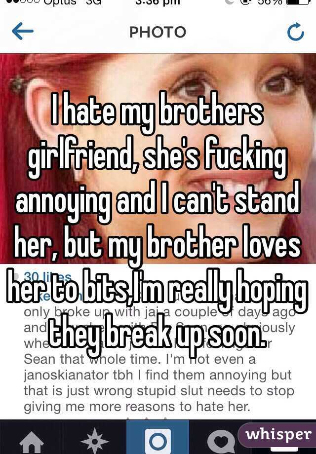 hate for brother