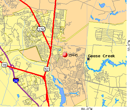 Area code for goose creek sc