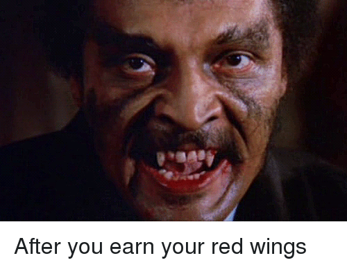 Earn your red wings