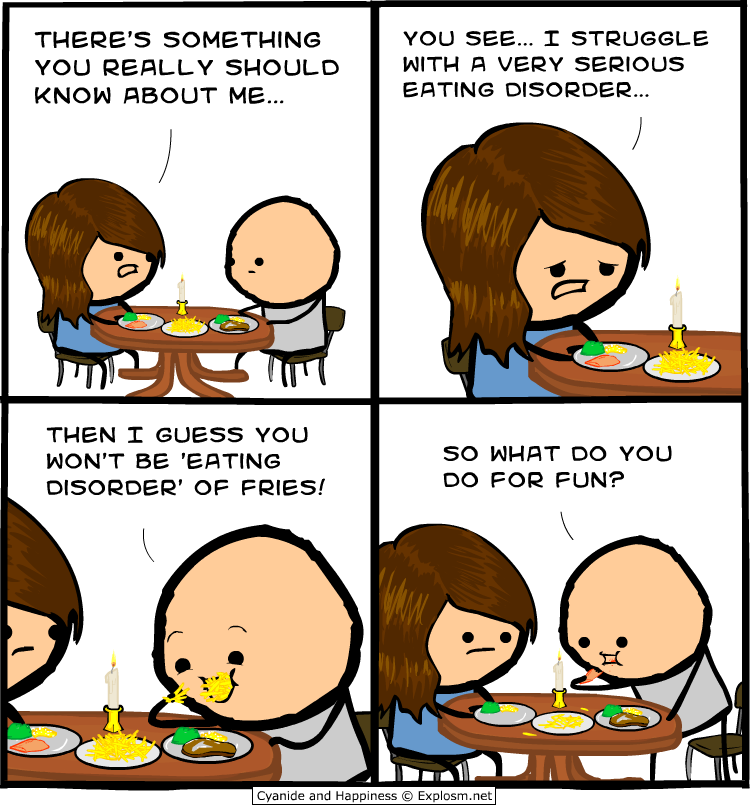 Cyanide and happiness dating
