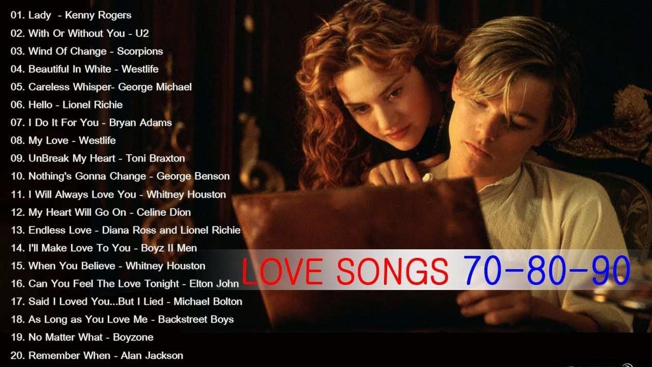 Old love songs from the 80s