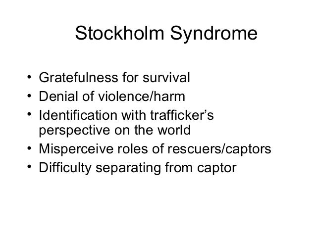 Definition of stockholm syndrome