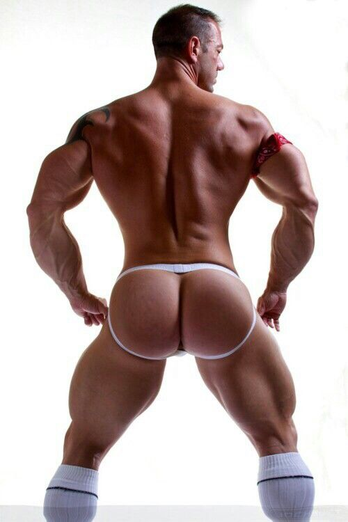 Men with huge butts