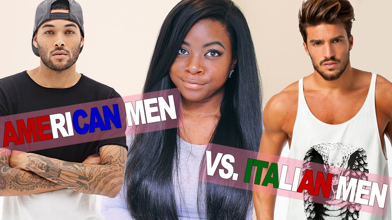Italian men and black women