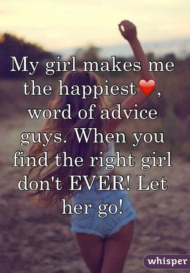 How to find the right girl