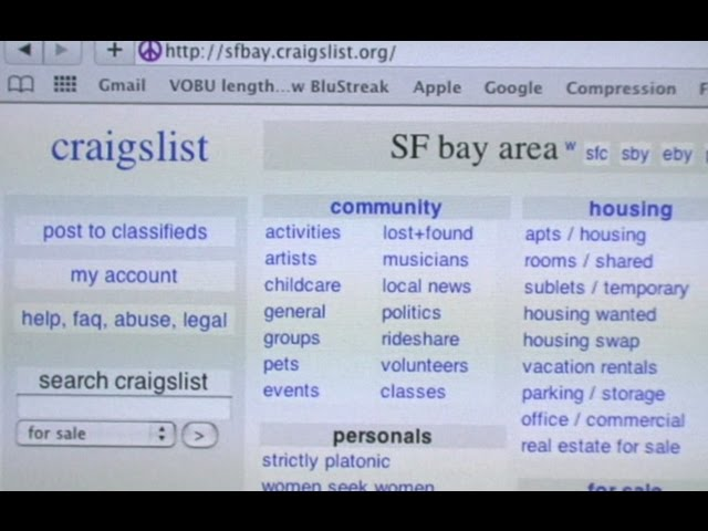What does sd mean on craigslist.
