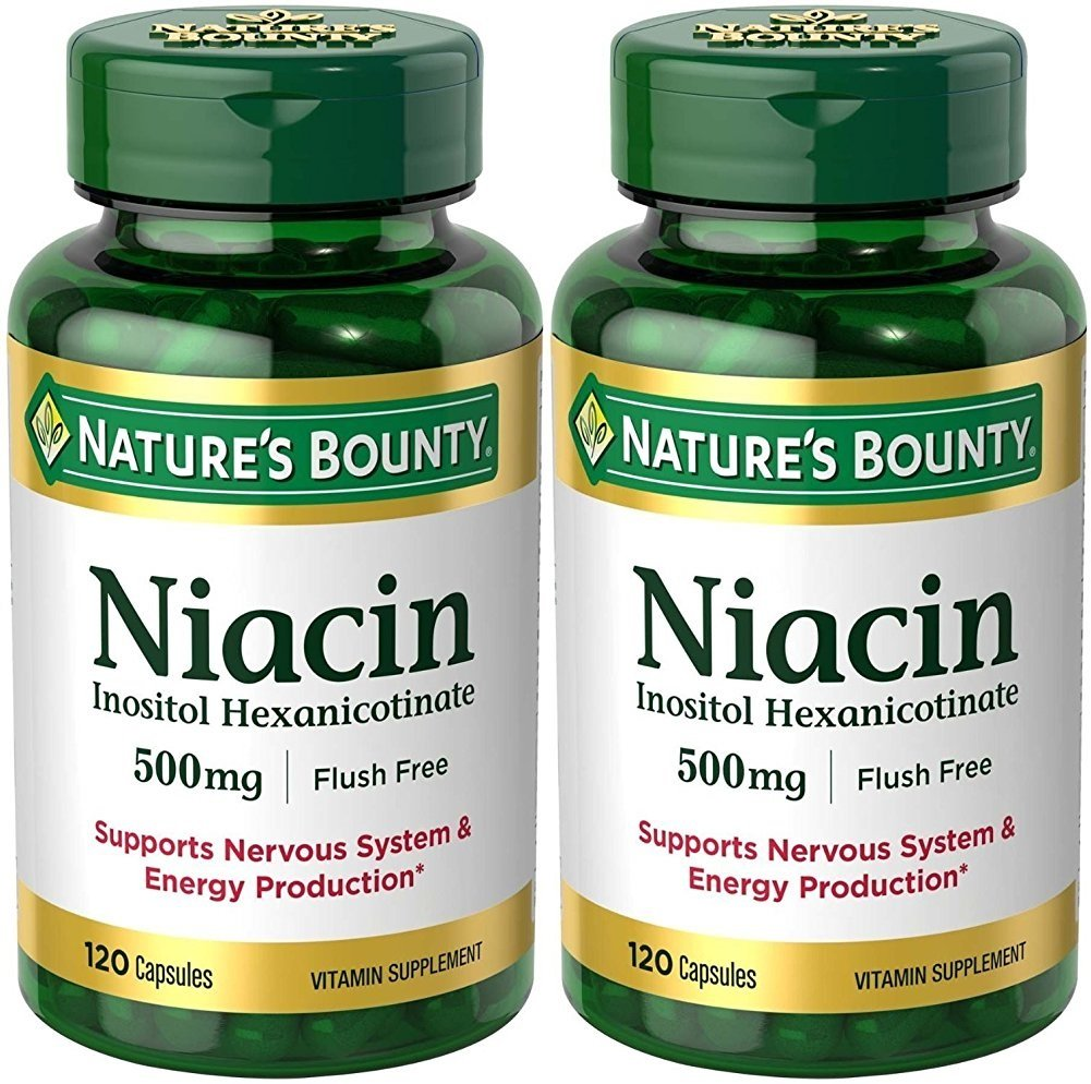 What does flush free mean on a niacin bottle