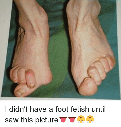 Why do i have a foot fetish