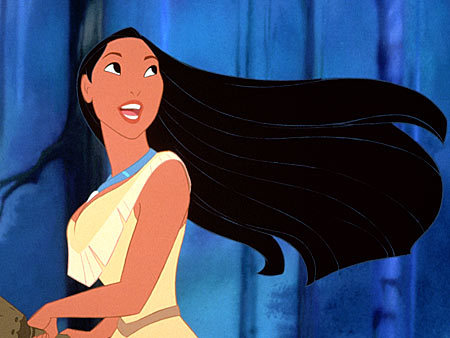 Disney princess with black hair