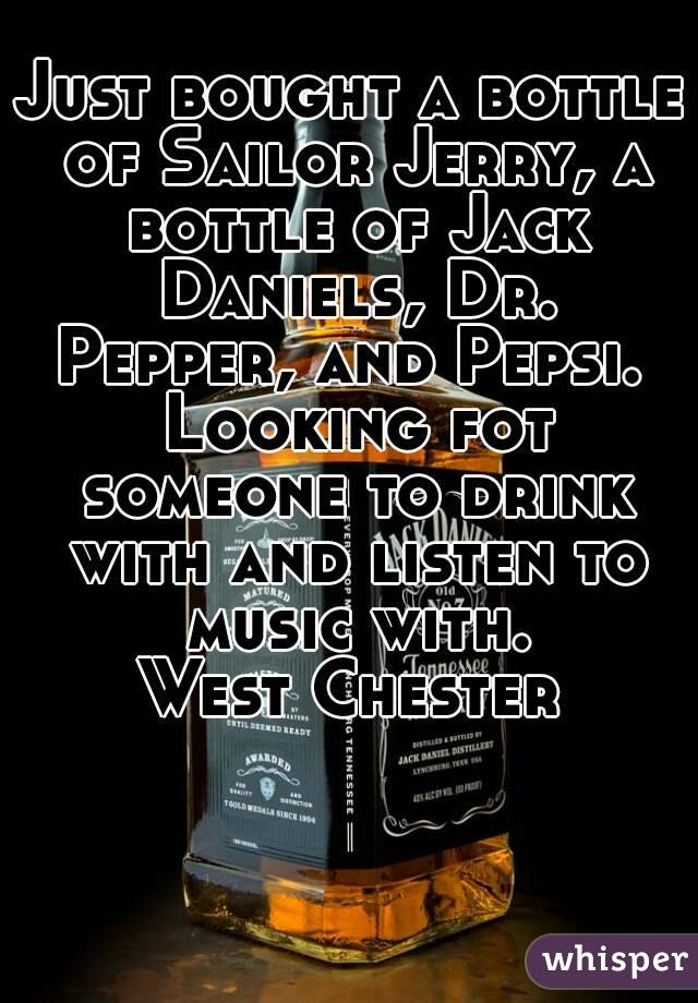 Jack daniels and dr pepper