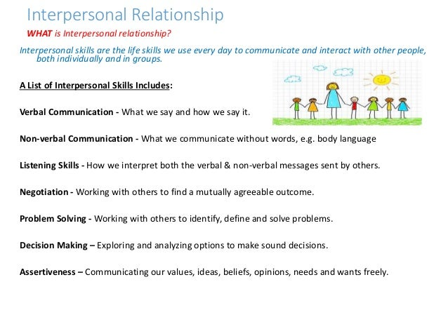 discuss the models for understanding interpersonal relationship