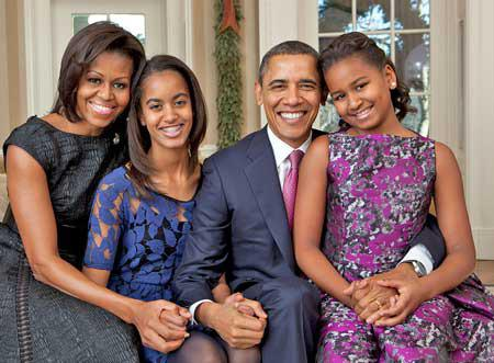 Are the obama girls adopted