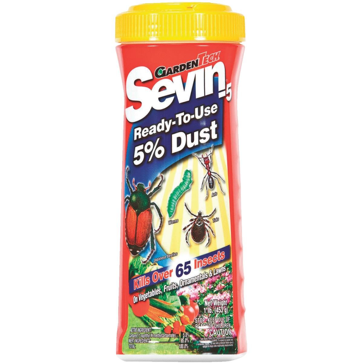 How to apply sevin dust