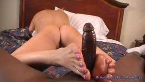 What is a footjob