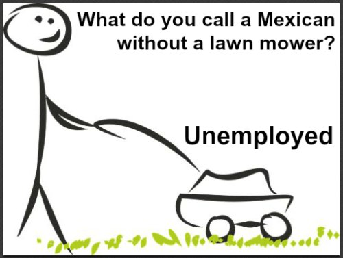 Racist jokes about mexican